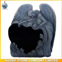 Haobo Stone Angel Heart Granite Tombstone
