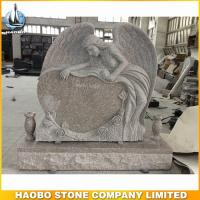 haobo carved rose angel headstones for sale