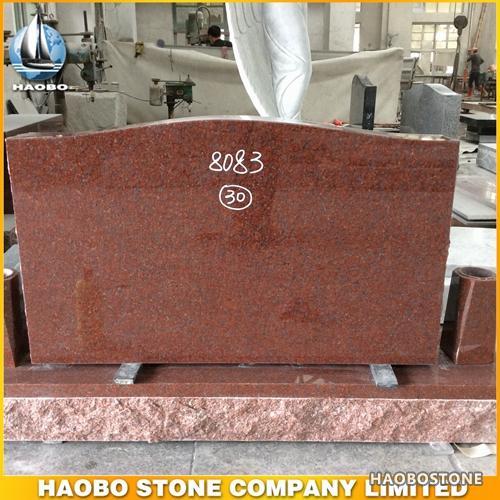 Red Granite Headstones : Indian red granite headstones for sale haobo stone