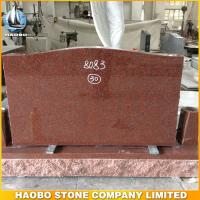 indian red granite headstones for sale