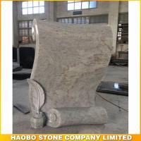 How creative Kashmir white granite monument for new style design by haobo stone